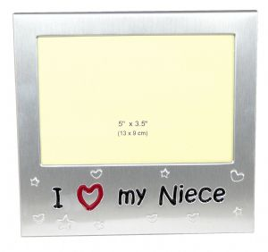 I Love My Niece Photo Picture Frame Gift - 5 x 3.5